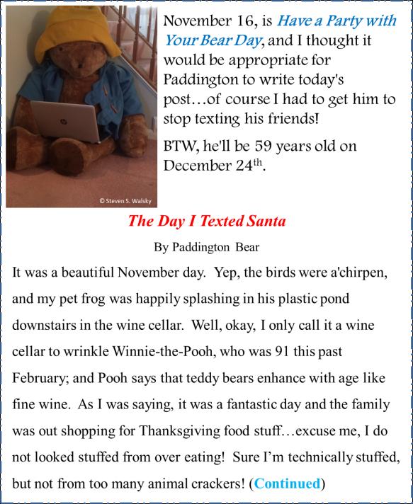 The Day I Texted Santa